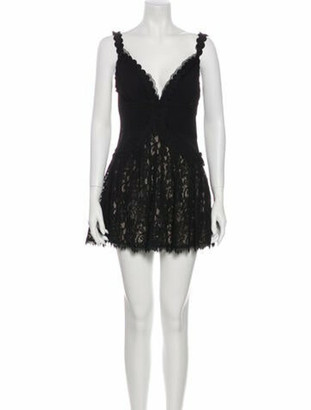DSQUARED2 Virgin Wool Mini Dress Wool