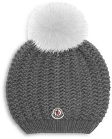 Moncler Girls' Berretto Slouchy Hat - Sizes S-L