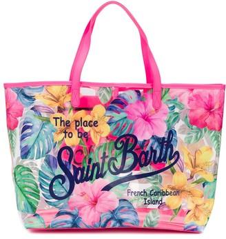 MC2 Saint Barth Las Vegas floral tote bag