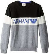 Armani Junior Armani Logo Sweater Boy's Sweater