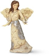 Element Cherish You Angel Figurine by Pavilion, Butterfly on Hand, 5-1/2-Inch by