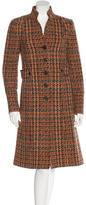 Etro Tweed Wool Coat