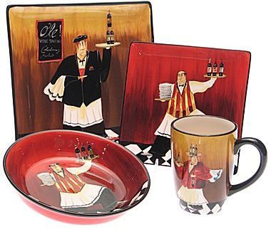 JCPenney Dinnerware, Bistro Chef Collection