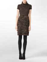 Calvin Klein Petite Short Sleeve Sweater Dress