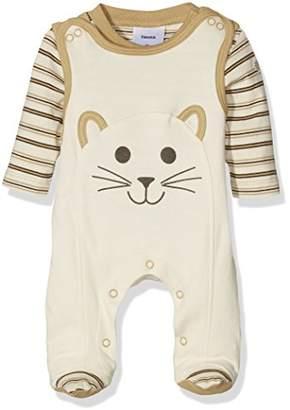 """Twins Baby Unisex Sleepsuit Footies """"Cat"""",56 (EU)"""