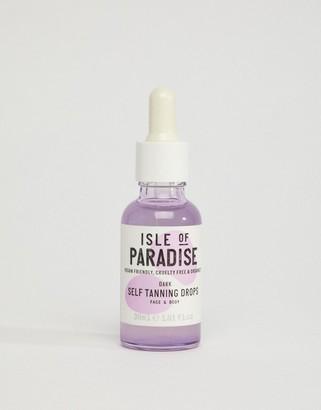Isle of Paradise Self Tanning Drops - Dark 30ml