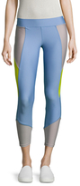 Cynthia Rowley Colorblock Cropped Legging