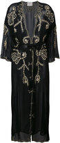 Jucca embroidered sheer coat - women - Viscose - 42