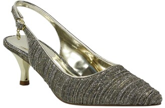 J. Renee Battista Glitter Slingback Pump