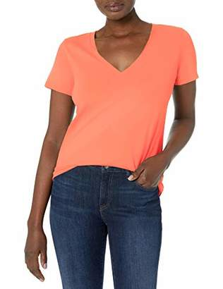 J.Crew Women's Vintage Cotton V-Neck T-Shirt