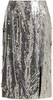 Erdem Tahira sequin-embellished skirt