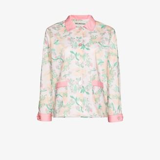 Helmstedt Floral print pyjama shirt