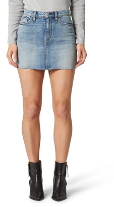 Hudson The Viper Denim Miniskirt