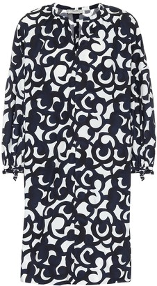 S Max Mara Cervo floral cotton dress