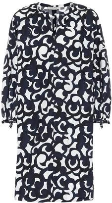S Max Mara Cervo floral cotton dress