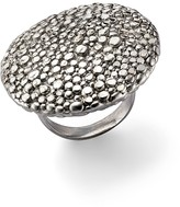 Roberto Coin Sterling Silver Stingray Round Disc Ring