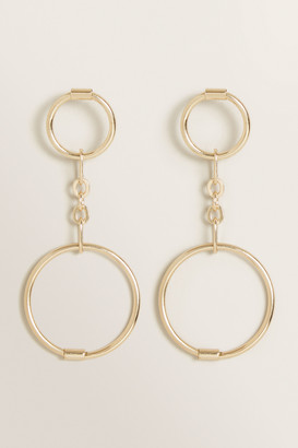 Seed Heritage Double Circle Drop Earring