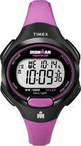 Timex Womens Pink Resin Strap 10-Lap Watch T5K5259J