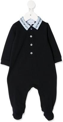 Emporio Armani Kids Long Sleeved Pajamas