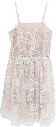 Charles Anastase White Lace Dress for Women