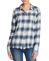 Paige Jacey Plaid Shirt