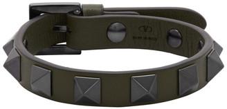 Valentino Green Garavani Rockstud Bracelet