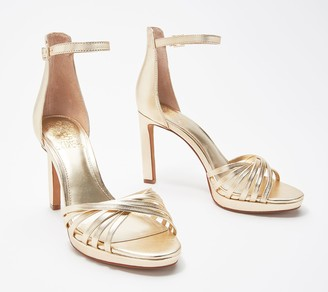 Vince Camuto Ankle Strap Heeled Sandals- Beresta