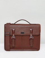 Ted Baker Satchel Bengal In Leather
