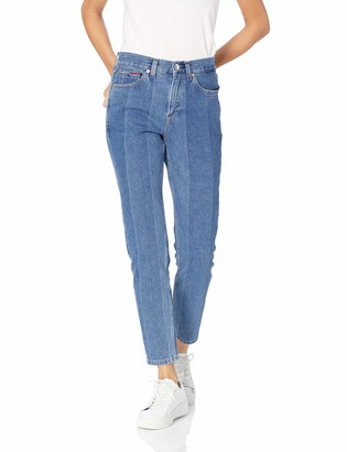 Tommy Hilfiger Tommy Jeans Women's High Rise Slim Fit Crop New Blue 30X30