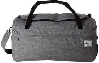 Herschel Outfitter 90 L (Raven Crosshatch) Duffel Bags