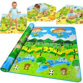 Gosprint Baby Crawling Mat Foam Waterproof 200 X 180CM 5MM Large Thickness Toddler Activity Playmat