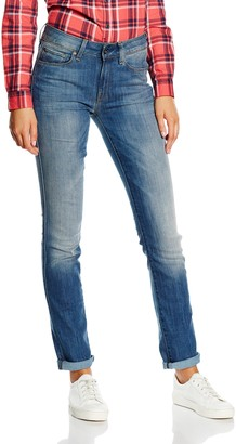 G Star Women's 3301 High Rise Straight Bionic Slander Super Stretch Jean