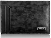 Tumi Men's 'Monaco' Leather Money Clip Card Case - Black