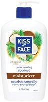 Kiss My Face Natural Moisturizer - Coconut - 16 oz