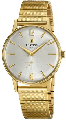 Festina Mens Analogue Classic Quartz Watch with Stainless Steel Strap F20251/2