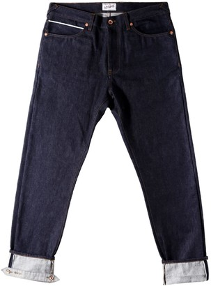 &Sons Trading Co Cutter 12Oz Indigo Ecru Selvedge Denim Jeans