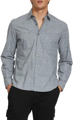 Civil Society Kent Textured Flannel Regular Fit Shirt