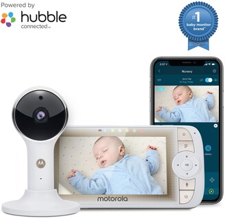 Motorola Lux65 Connect 5-Inch Single Video Baby Monitor