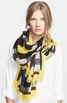 Kate Spade 'beautiful Type - Menswear Geo' Scarf