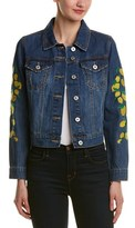 Bagatelle Embroidered Denim Jacket.