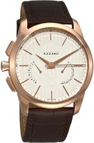 Azzaro Men's AZ2060.53AH.000 Legend Chrono Leather Strap Retrograde Dial Watch