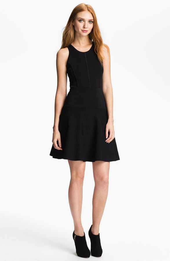 Milly 'Delia' Fit & Flare Dress