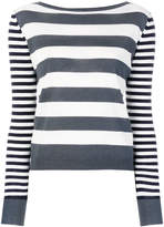 Max Mara striped knitted top