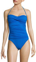 LaBlanca La Blanca Solid Bandeau One-Piece Swimsuit