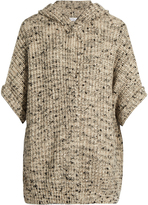 Brunello Cucinelli Cashmere and silk-blend hooded cardigan