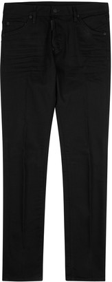 DSQUARED2 Cool Guy Black Slim-leg Jeans