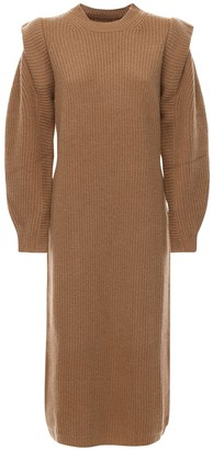 Isabel Marant Bea Wool & Cashmere Knit Midi Dress