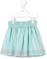 Familiar striped detail gathered skirt - kids - Cotton/Lyocell - 2 yrs