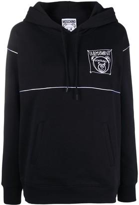 Moschino Teddy Bear Hooded Sweatshirt