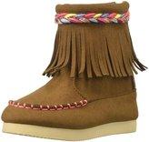 Billieblush Fringe Boot (Tod/Yth) - Brown - 11 Toddler